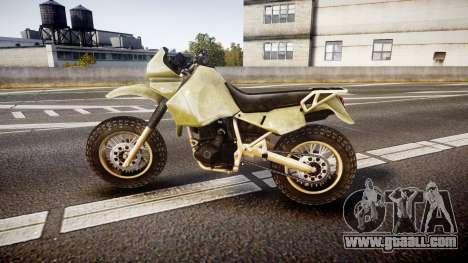 Dirt Bike for GTA 4 left view