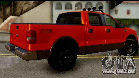 Ford F-150 4x4 for GTA San Andreas left view
