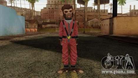 Monkey from GTA 5 v3 for GTA San Andreas