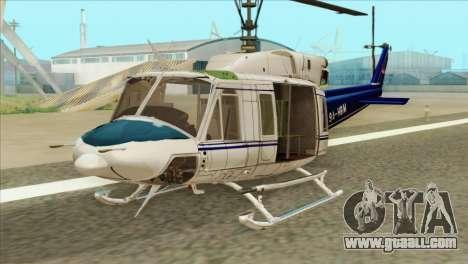 Agusta-Bell AB-212 Croatian Police for GTA San Andreas