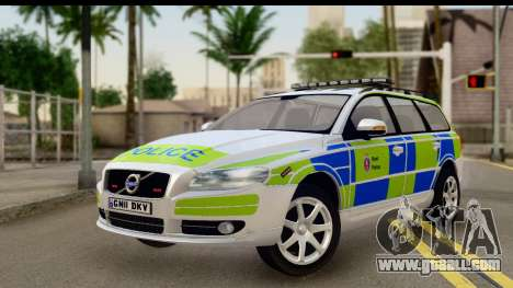 Volvo V70 Kent Police for GTA San Andreas
