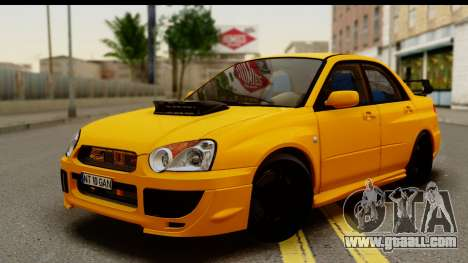 Subaru Impreza WRX STI 2005 Romanian Edition for GTA San Andreas