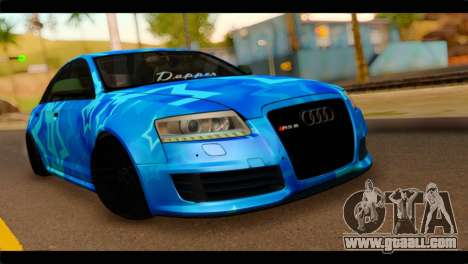 Audi RS6 VIP Star for GTA San Andreas