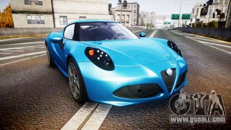 Alfa Romeo 4C 2014 HD Textures for GTA 4