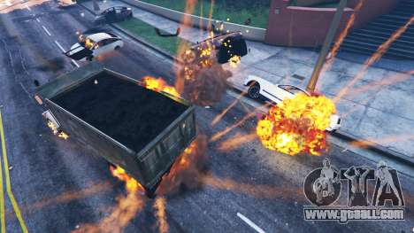 GTA 5 The undermining of the vehicle second screenshot