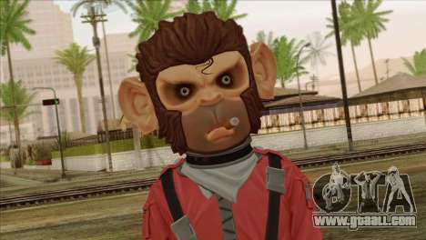 Monkey from GTA 5 v3 for GTA San Andreas
