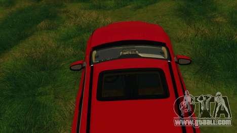 Lexus NX200T v2 for GTA San Andreas bottom view