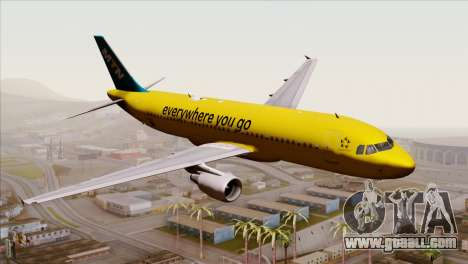 Airbus A320-200 MTN for GTA San Andreas