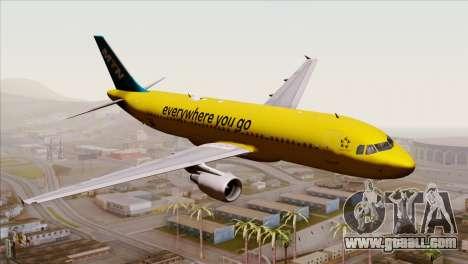 Airbus A320-200 MTN for GTA San Andreas