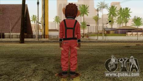 Monkey from GTA 5 v3 for GTA San Andreas second screenshot