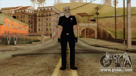Skin 3 from Heists GTA Online DLC for GTA San Andreas