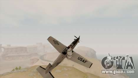 EMB T-6A Texan II US Navy for GTA San Andreas right view