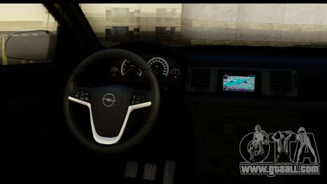 Opel Vectra for GTA San Andreas inner view