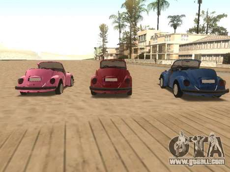 Volkswagen Beetle 1984 for GTA San Andreas