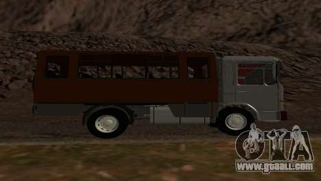 Roman Bus Edition for GTA San Andreas right view