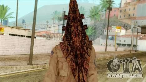 Bogeyman Alex Shepherd Skin without Flashlight for GTA San Andreas third screenshot