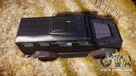 GTA V HVY Insurgent for GTA 4 right view