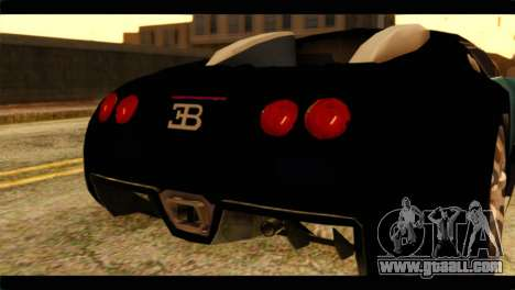 Bugatti Veyron 16.4 for GTA San Andreas right view