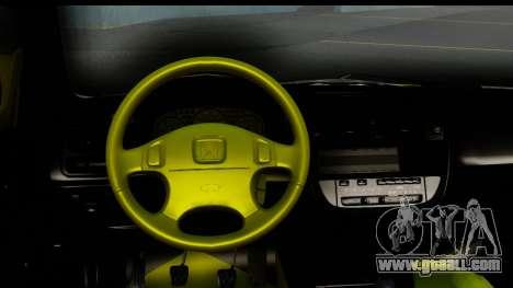 Honda Civic 1.4 Taxi for GTA San Andreas inner view