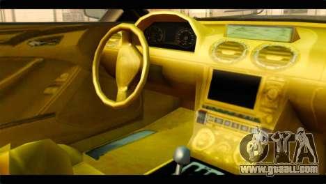 GTA 5 Ocelot F620 for GTA San Andreas right view