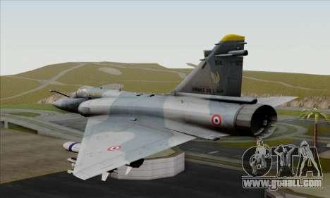 Dassault Mirage 2000-5 ACAH for GTA San Andreas left view