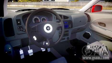Mitsubishi Lancer Evolution VI 2000 Rally for GTA 4 back view