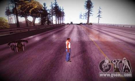 Ebin 7 ENB for GTA San Andreas sixth screenshot