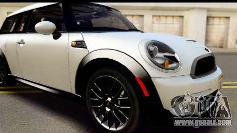 Mini Cooper Clubman 2011 for GTA San Andreas side view