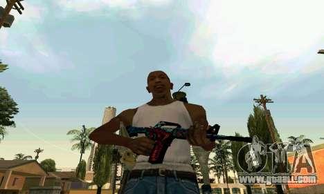 M4A1 Hyper Beast for GTA San Andreas