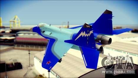 Mikoyan-Gurevich MIG-29K for GTA San Andreas left view