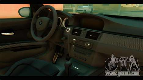 BMW M3 E92 2008 for GTA San Andreas right view