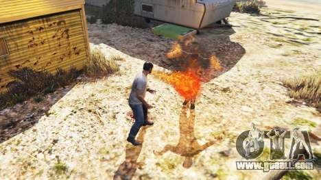 GTA 5 Fire-breathing third screenshot