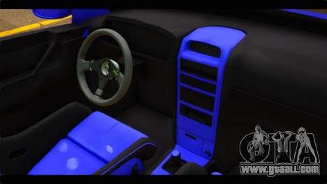 Opel Bertone Cabrio for GTA San Andreas right view