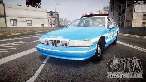 Chevrolet Caprice 1994 LCPD Patrol [ELS] for GTA 4