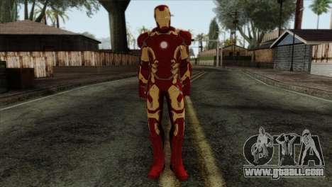 Iron Man Mark 43 Svengers 2 for GTA San Andreas