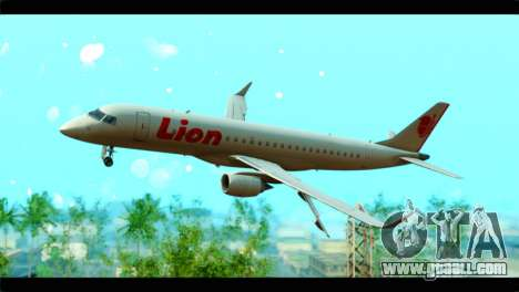 Embraer 190 Lion Air for GTA San Andreas
