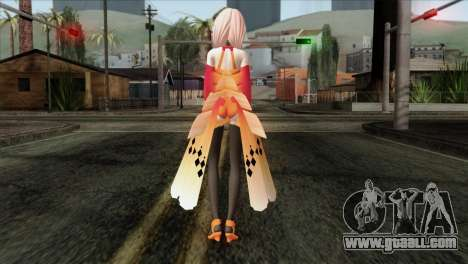 Inori (Guity Crown) for GTA San Andreas second screenshot