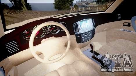 Toyota Land Cruiser 100 UEP [ELS] for GTA 4 back view