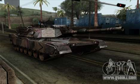 M1A2 Abrams Autumn Camo for GTA San Andreas