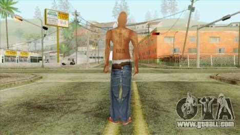 Tupac Shakur Skin v3 for GTA San Andreas second screenshot