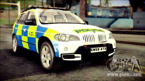 BMW X5 Kent Police RPU for GTA San Andreas