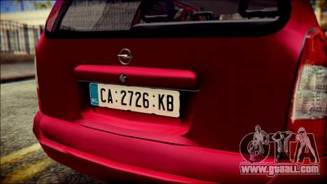 Opel Astra G Caravan for GTA San Andreas back view