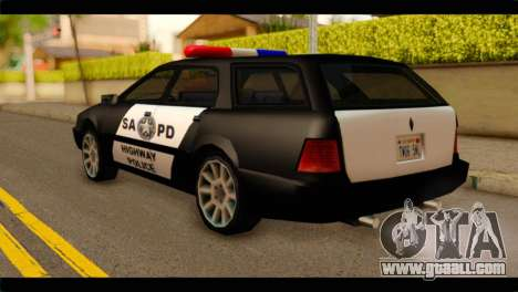 Stratum Police Highway v1.0 for GTA San Andreas left view