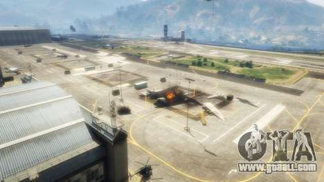 GTA 5 Airstrike v1.1 second screenshot