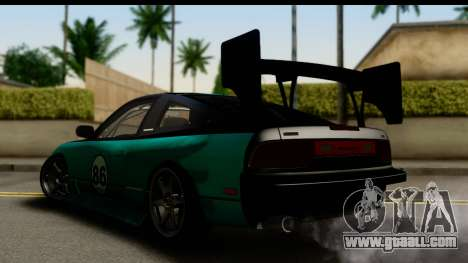 Nissan 200SX S13 Skin for GTA San Andreas left view