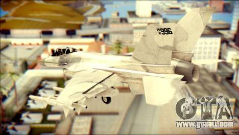 P-996 Lazer for GTA San Andreas left view