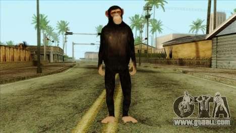 Monkey Skin from GTA 5 v1 for GTA San Andreas