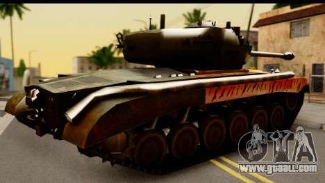 M26 Pershing Tiger for GTA San Andreas right view