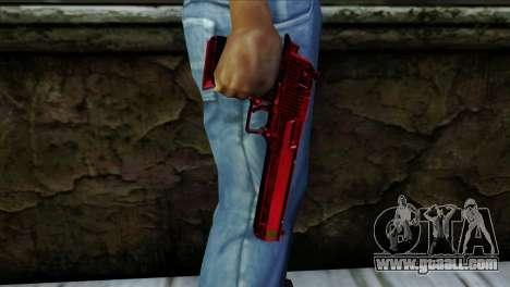Desert Eagle Marruecos for GTA San Andreas third screenshot