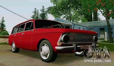 IZH-412 Wagon for GTA San Andreas right view